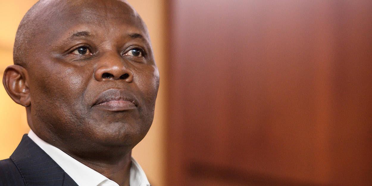 Sur le banc des accusés du tribunal de grande instance de la Gombe,Vital Kamerhe, le directeur de cabinet, toujours en fonction, du chef de l'État congolais.